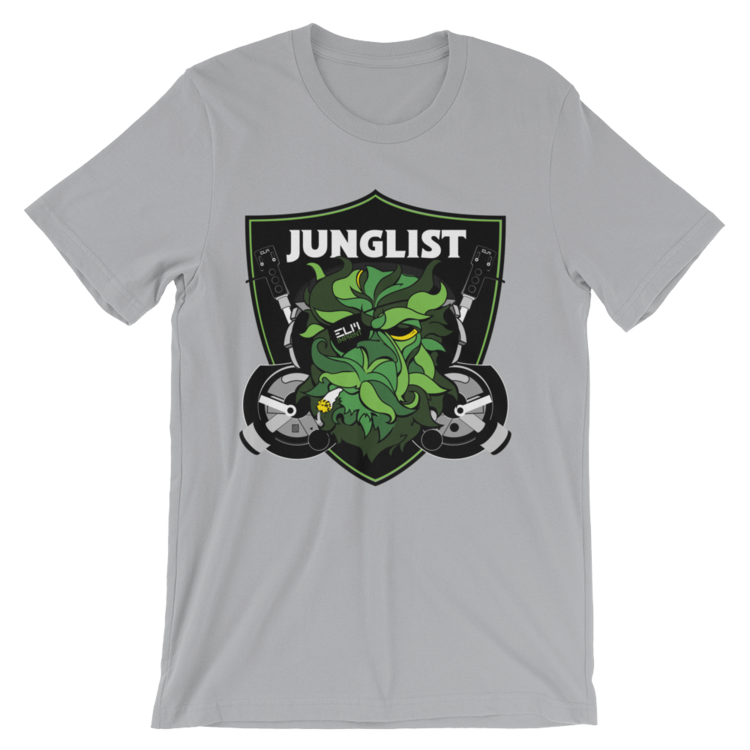 junglist shirt grey